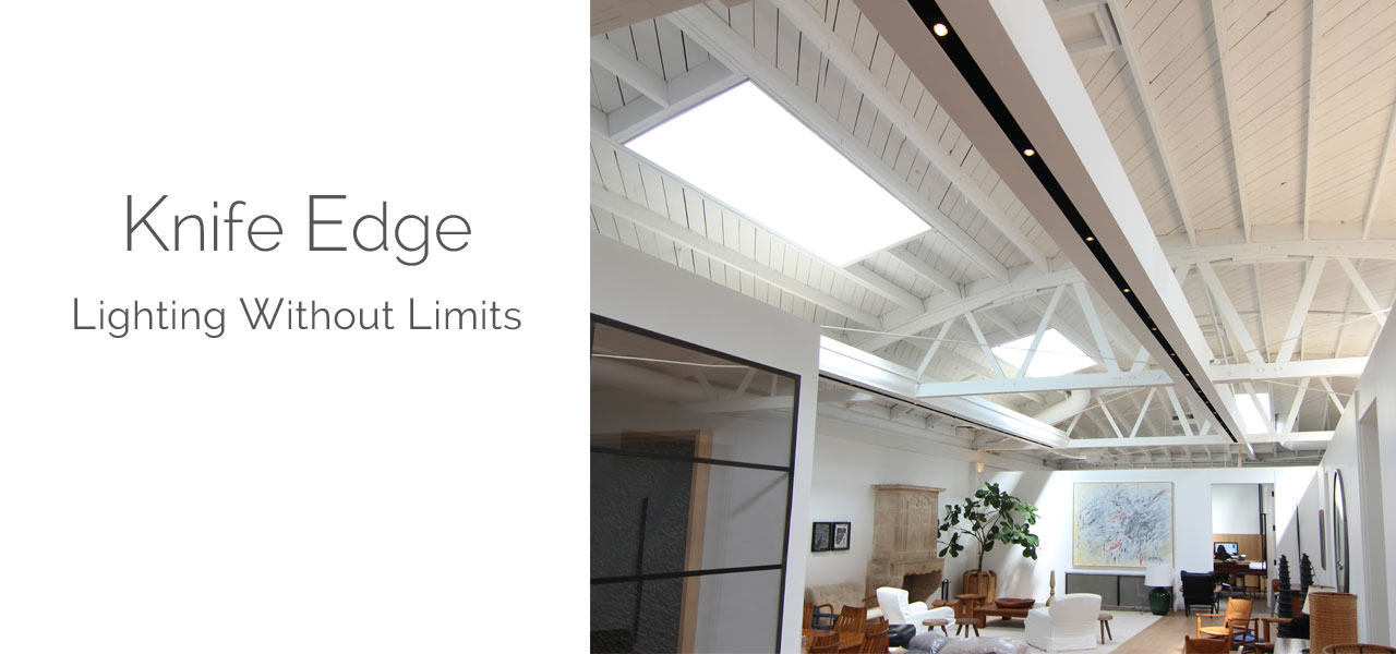 Knife Edge Recess Lighting