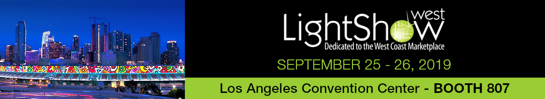 Visit us at Light Show West 2019